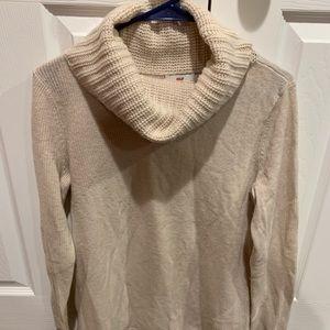 Vineyard Vines cream cashmere blend sweater